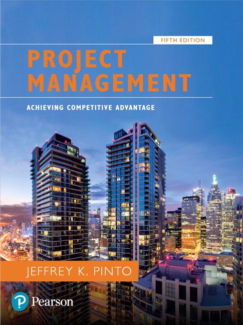 Pinto, Project Management: Achieving Competitive Advantage [RENTAL