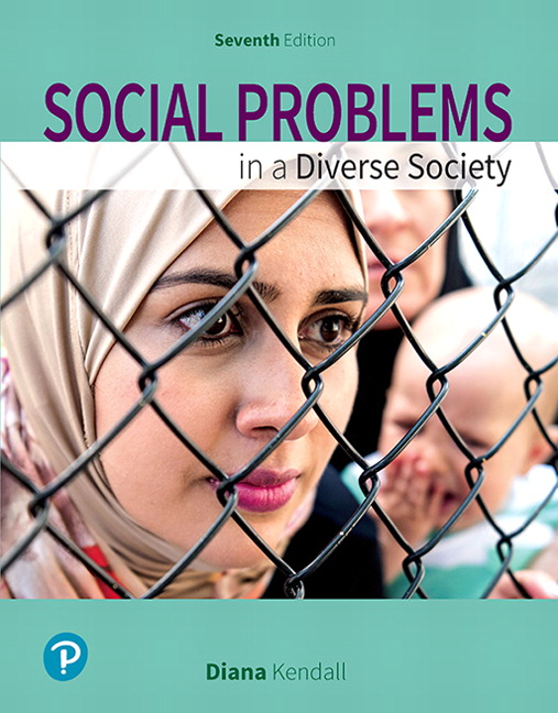 Table of contents for Social problems in a diverse society / Diana Kendall.