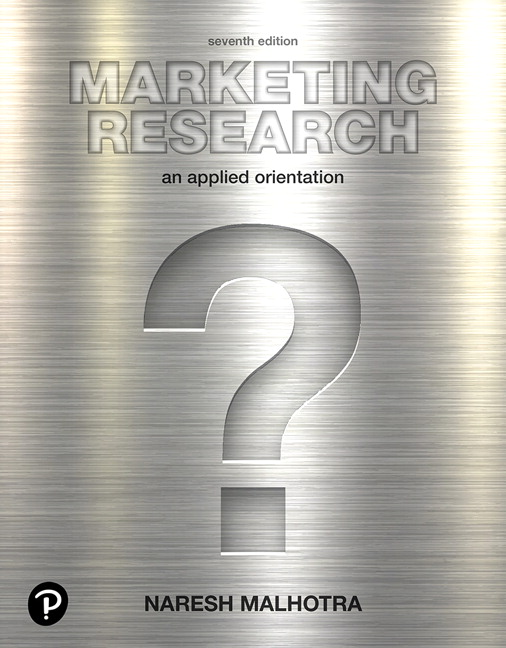 Marketing Research: An Applied Orientation, 7th Edition