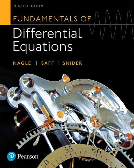 Nagle, Saff & Snider, Fundamentals of Differential Equations | Pearson