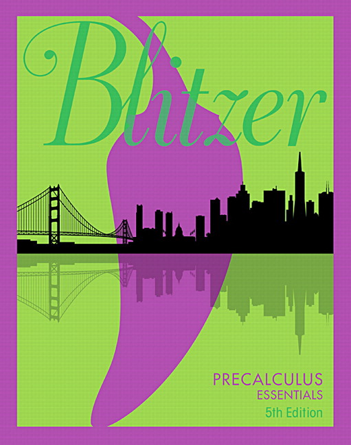 Blitzer Precalculus Series | Pearson