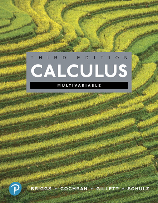 Briggs, Cochran, Gillett & Schulz, Calculus, Multivariable, 3rd