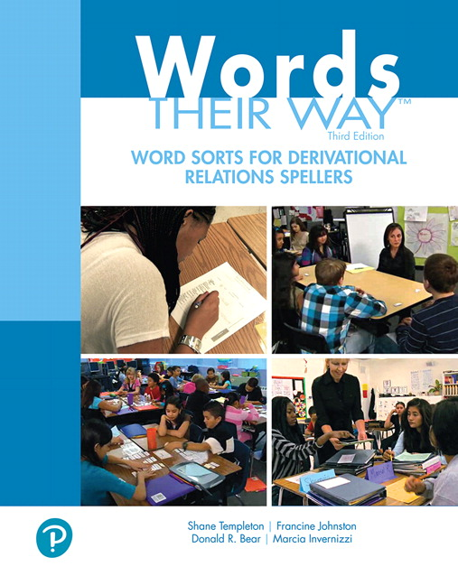 Words Their Way Word Sorts for Derivational Relations Spellers, 3rd Edition