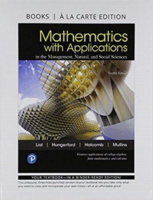 Lial Hungerford Holcomb Mullins Mathematics With