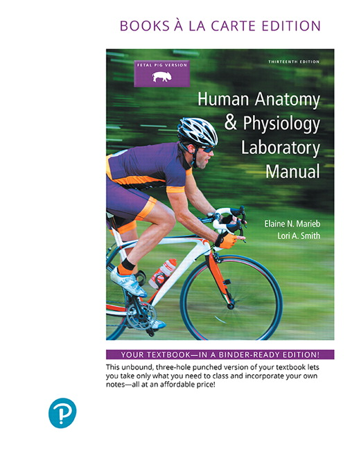 Marieb smith human anatomy physiology laboratory manual cat human anatomy physiology laboratory manual cat version books a la carte plus mastering ap with pearson etext access card package 13th edition fandeluxe Gallery