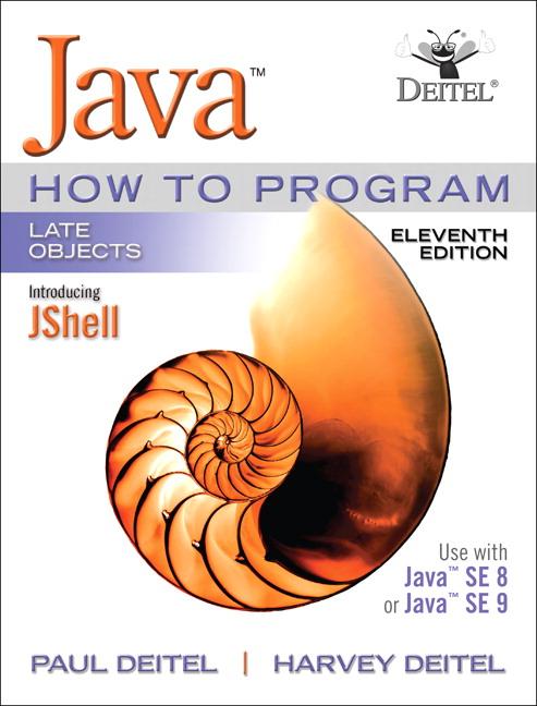 java how to program 11th pdf