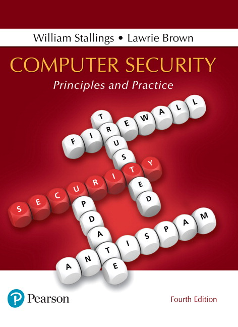 Resultado de imagen para Computer Security: principles and practice. - 4a edition