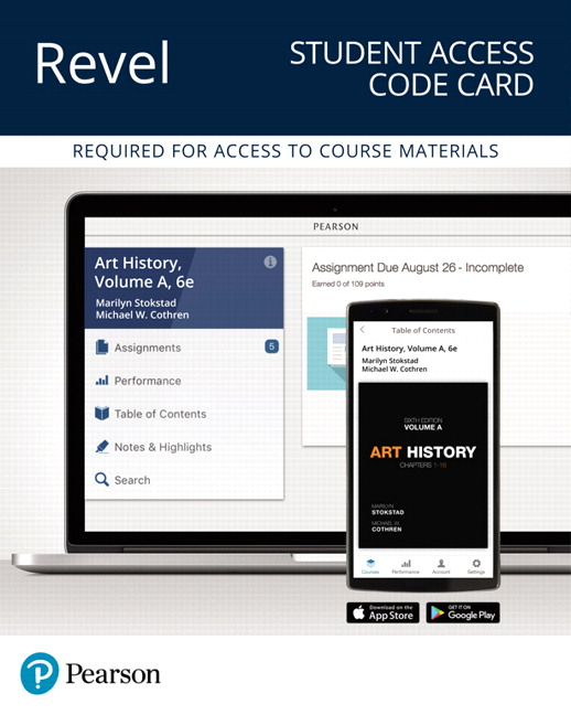 Revel for Art History, Volume A -- Instant Access