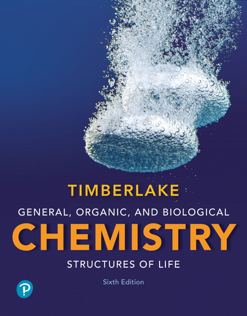 Timberlake General Organic And Biological Chemistry