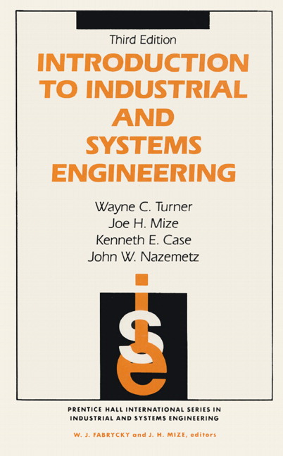 Turner mize case nazemtz introduction to industrial and systems introduction to industrial and systems engineering 3rd edition fandeluxe Choice Image