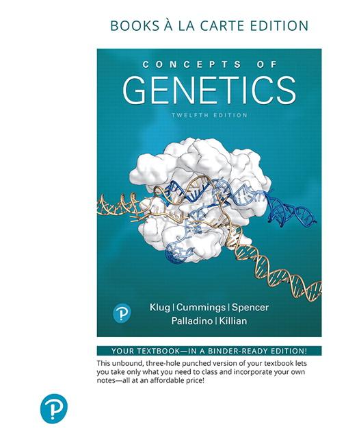 Klug, Cummings, Spencer, Palladino & Killian, Concepts of Genetics