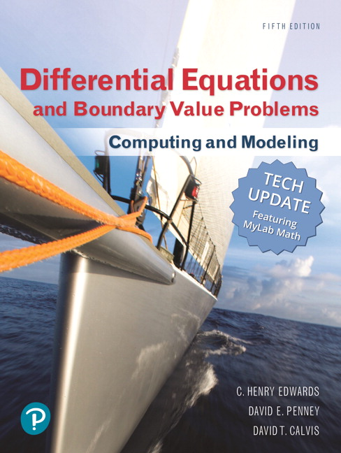 Fundamentals of differential equations with boundary value.