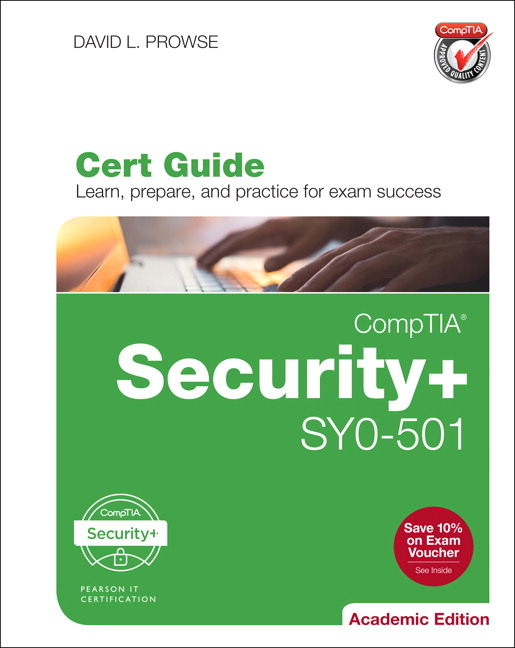 Test Bank for CompTIA Security+ SY0-501 Cert Guide, Academic Edition