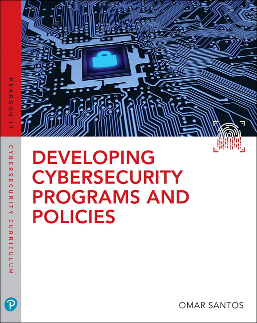 Developing Cybersecurity Programs and Policies Pearson uCertify Course Access Code (OASIS)