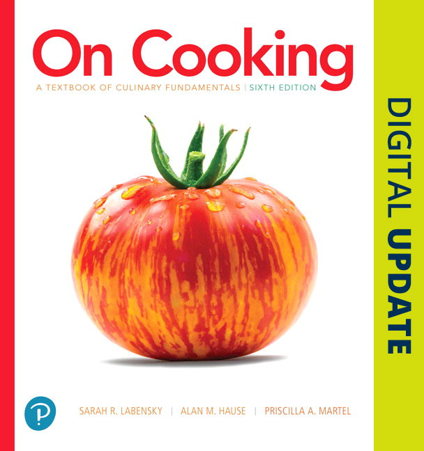 On Cooking: A Textbook of Culinary Fundamentals, 6th Edition