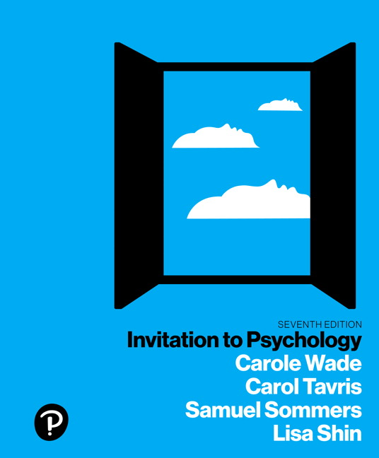 Wade tavris sommers shin revel for invitation to psychology invitation to psychology plus new mylab psychology with pearson etext access card package 7e 7th edition stopboris Choice Image