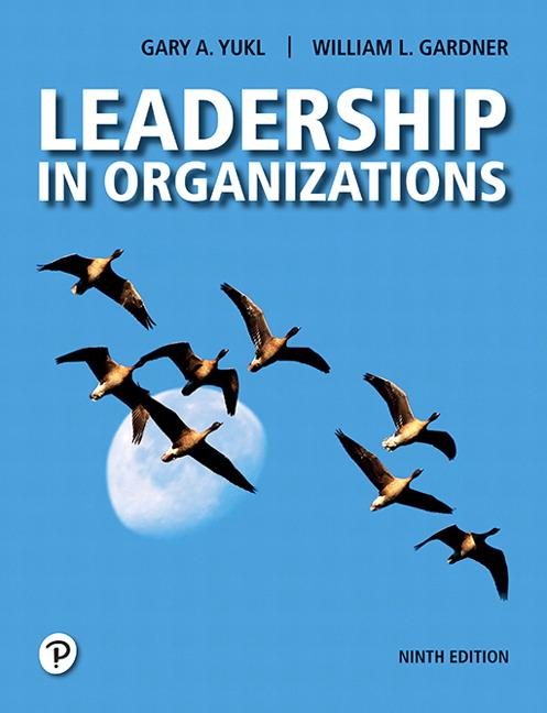 Leadership in Organizations 8th Edition