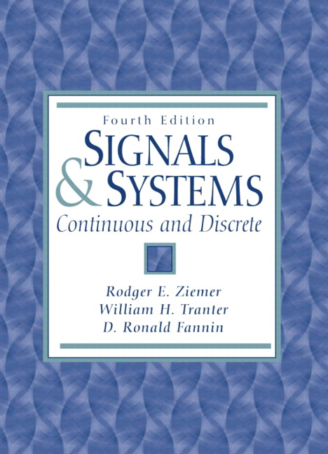 ziemer signals and systems.rar