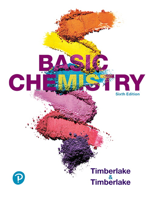 Timberlake Basic Chemistry 6th Edition Pearson