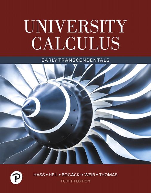 Hass, Heil, Bogacki, Weir & Thomas, University Calculus