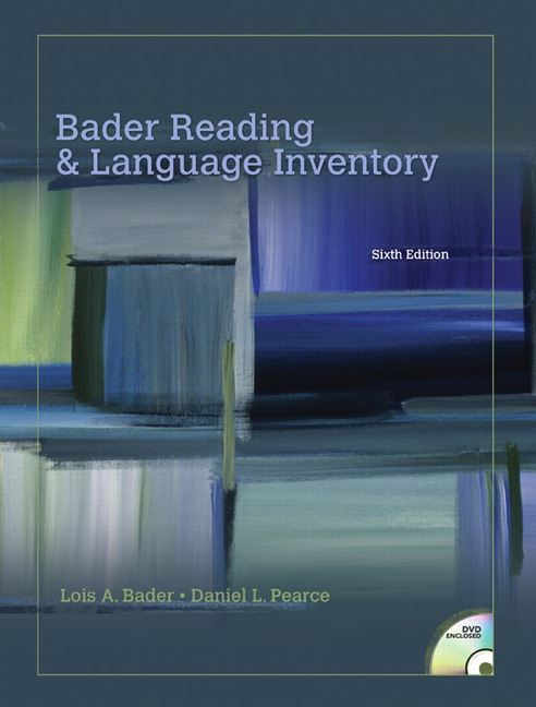 bader pearce bader reading language inventory 7th edition