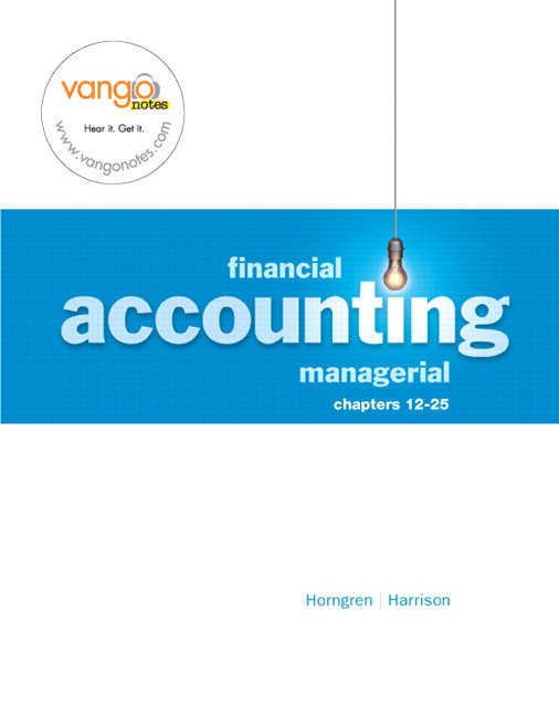 financial and managerial accounting chapter summary Chapter 16 opens with a review of the various ratios used for financial analysis the next section of the chapter introduces a deeper coverage of the statement of cash flowsthe chapter closes by demonstrating a worksheet that can facilitate the preparation of a statement of cash flows.