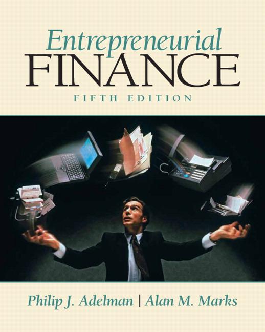 entreprenurial finance Amazoncom: entrepreneurial finance (9780471230724): richard l smith, janet kiholm smith: books.