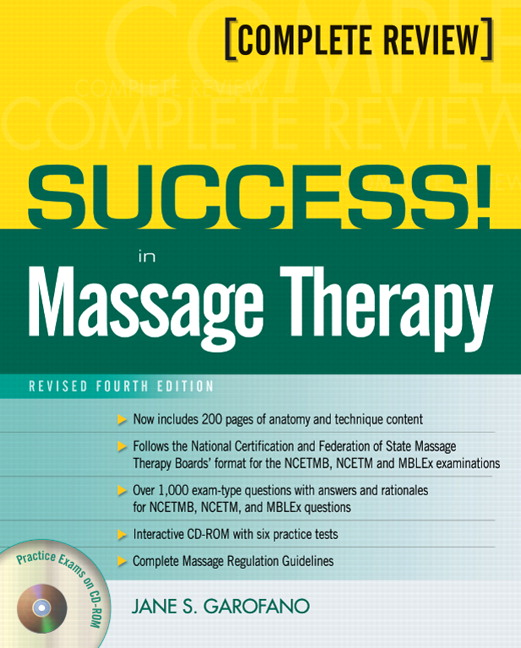 Garofano Success In Massage Therapy Revised Edition Pearson