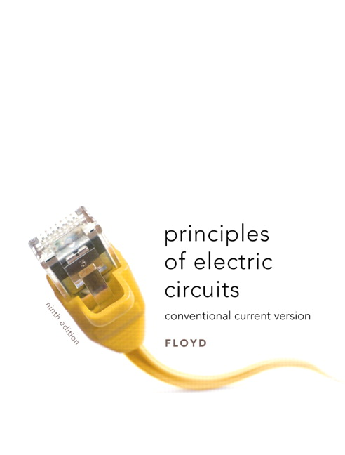 Floyd principles of electric circuits conventional current version principles of electric circuits conventional current version 9th edition view larger fandeluxe Images