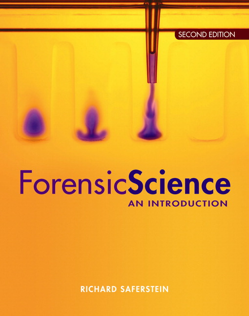Saferstein, Forensic Science: An Introduction