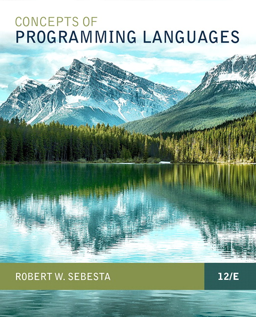 Concepts of Programming Languages (Subscription)