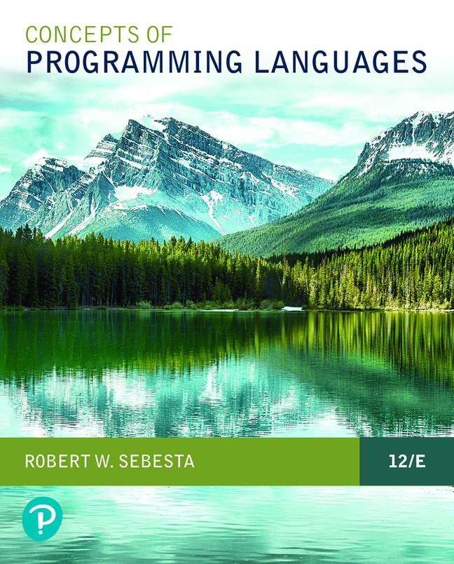 Pearson eText for Concepts of Programming Languages -- Instant Access