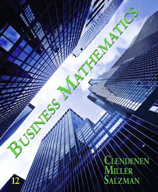 Return Receipt Lotus Notes Clendenen  Salzman Business Mathematics Th Edition Blank Cab Receipt Excel with What Is A Return Receipt Excel Business Mathematics Th Edition Cash Receipts From Interest And Dividends Are Classified As