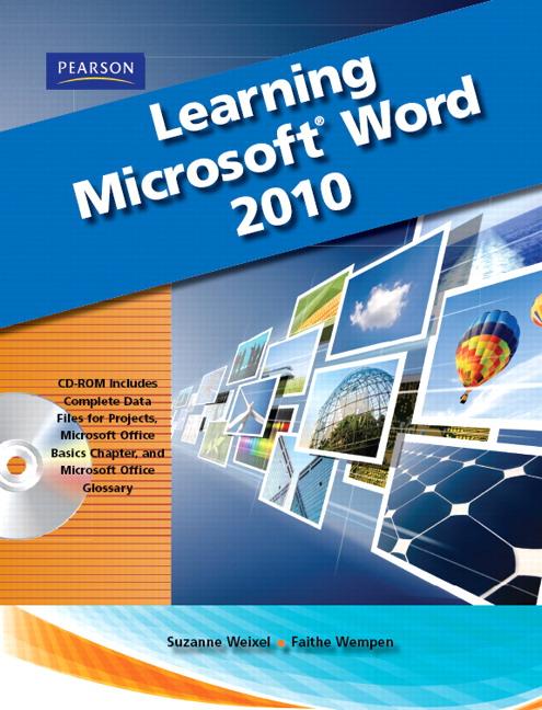 weixel  u0026 wempen  test binder for learning microsoft office