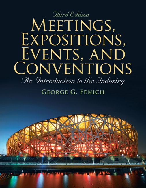 Meetings, Expositions, Events & Conventions: An Introduction to the Industry