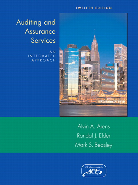 solutions manual to accompany modern auditing assurance Description solution manual for principles of auditing and other assurance services 19th edition ray whittington click to download test bank for principles of auditing and other assurance services 19th edition ray whittington.