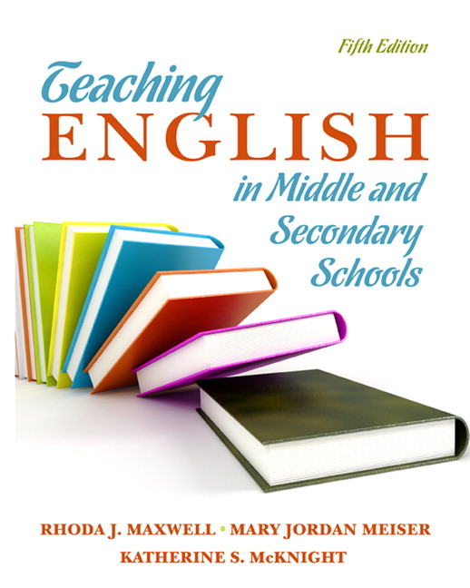 English Book Cover Design ~ Maxwell meiser mcknight teaching english in middle and