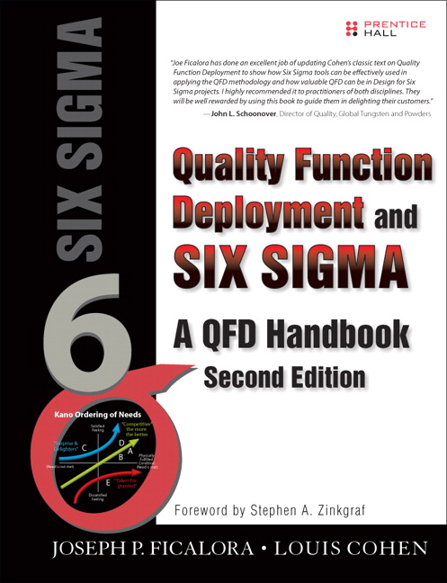 Quality Function Deployment and Six Sigma, Second Edition: A QFD Handbook, 2nd Edition