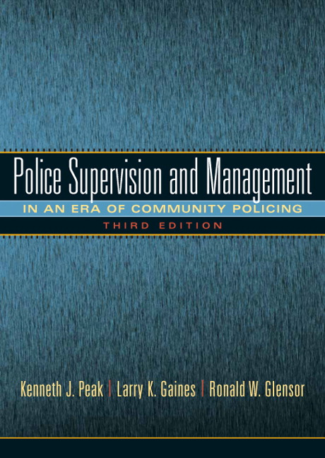 Peak Gaines Glensor Managing And Leading Todays Police