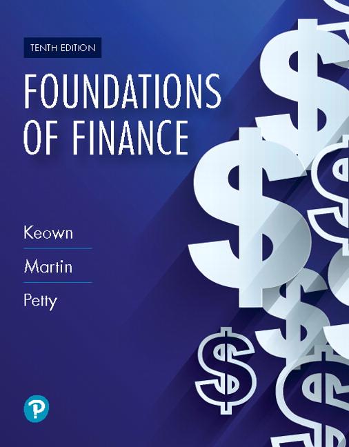 Keown Martin Petty Foundations Of Finance RENTAL
