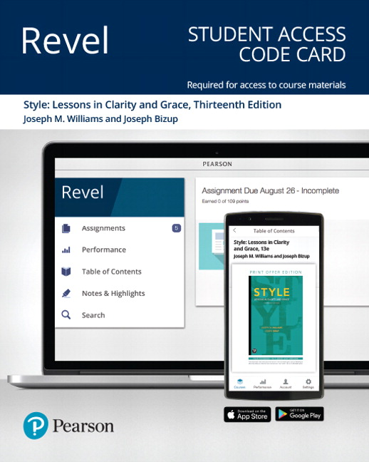 Revel for Style: Lessons in Clarity and Grace -- Access Card, 13th Edition