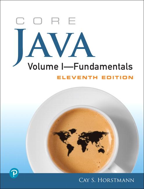 Core Java Volume I--Fundamentals, 11th Edition