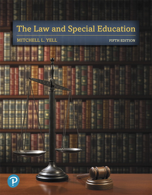 Yell The Law And Special Education 5th Edition Pearson