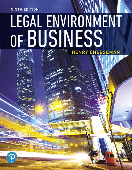 Business Law Henry Cheeseman 8th Edition Pdf