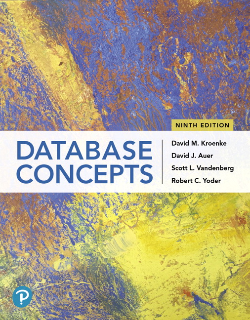 Database Concepts, 9th Edition