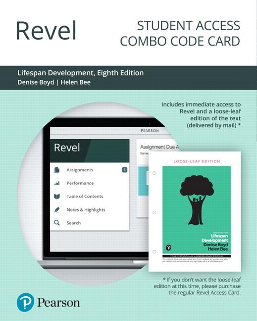 Boyd & Bee, Revel for Lifespan Development -- Access Card