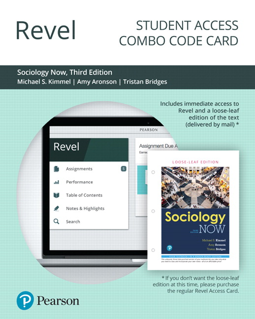 Revel for Sociology Now -- Combo Access Card