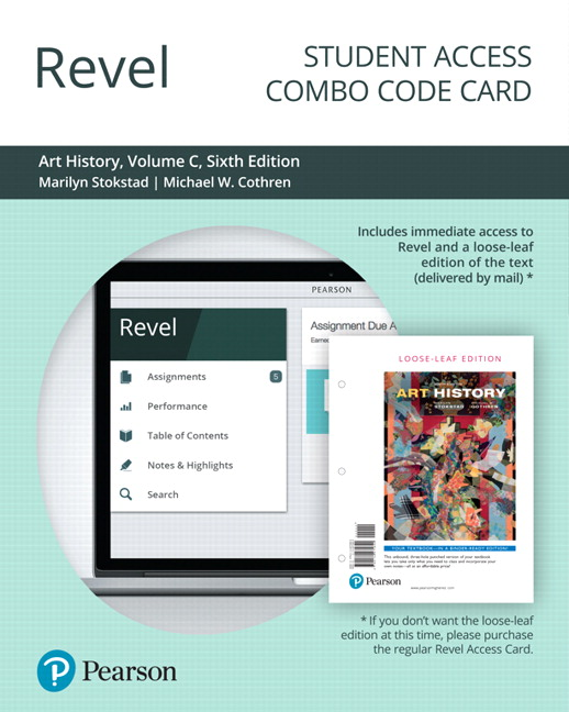 revel for art history volume c combo access card 6th edition