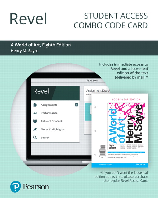 revel for a world of art combo access card 8th edition