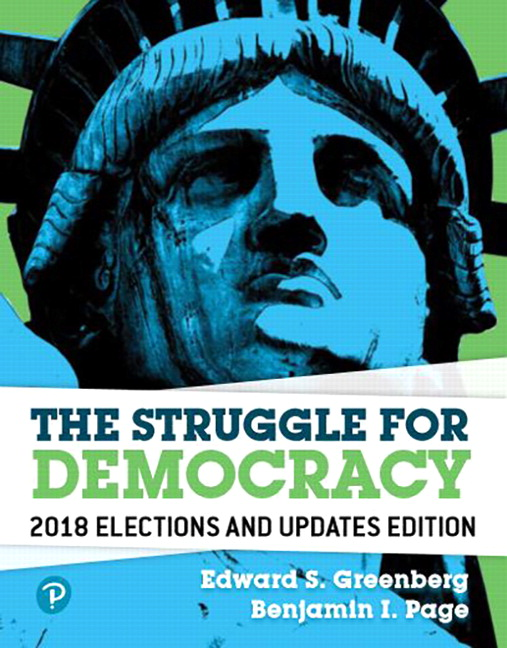 Greenberg & Page, Revel for The Struggle for Democracy, 2018